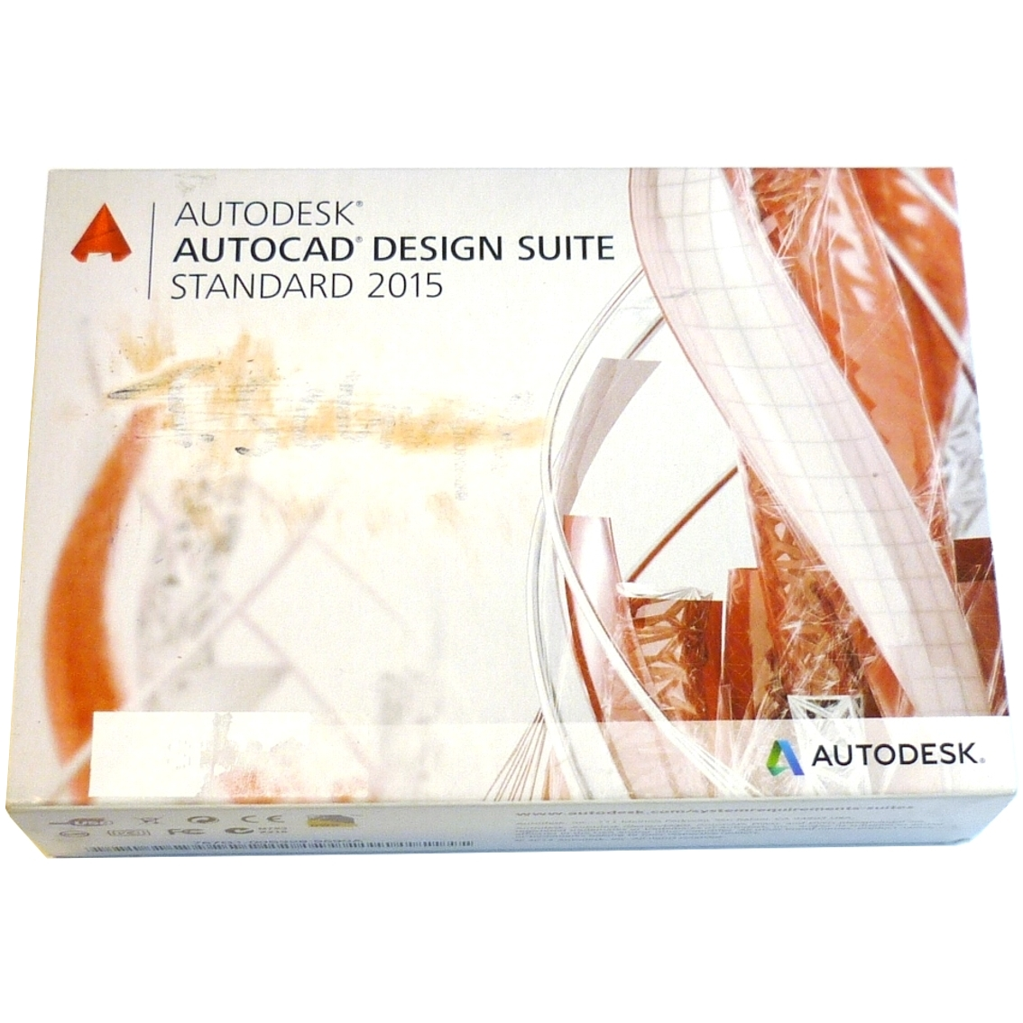autodesk autocad design suite standard 2015 dss 2015 en usb mit rechnung. Black Bedroom Furniture Sets. Home Design Ideas