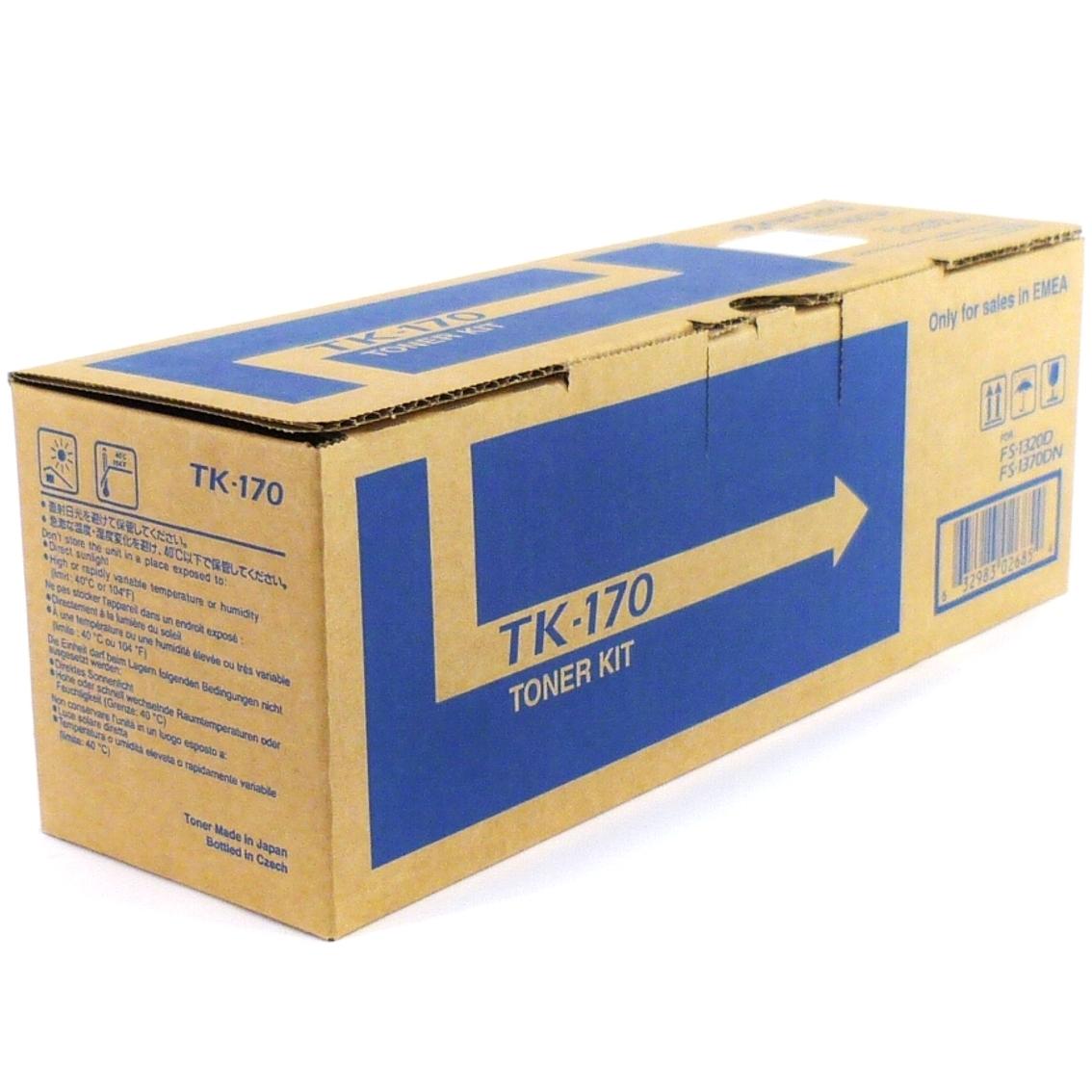 original kyocera tk 170 tonerkit f r fs 1320d fs 1370dn mit rechnung ebay. Black Bedroom Furniture Sets. Home Design Ideas