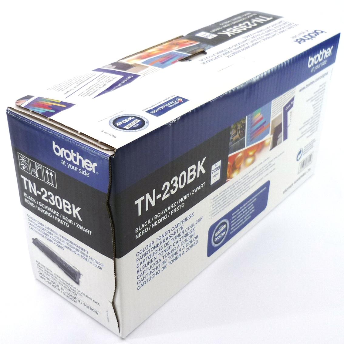 original brother tn 230bk schwarz dcp9010cn hl3040cn 3070cw mfc9120 mit rechnung ebay. Black Bedroom Furniture Sets. Home Design Ideas