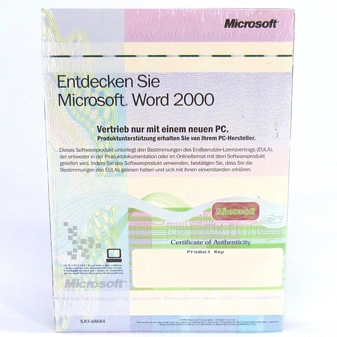 microsoft word 2000 works 2000 vollversion datentr ger und. Black Bedroom Furniture Sets. Home Design Ideas
