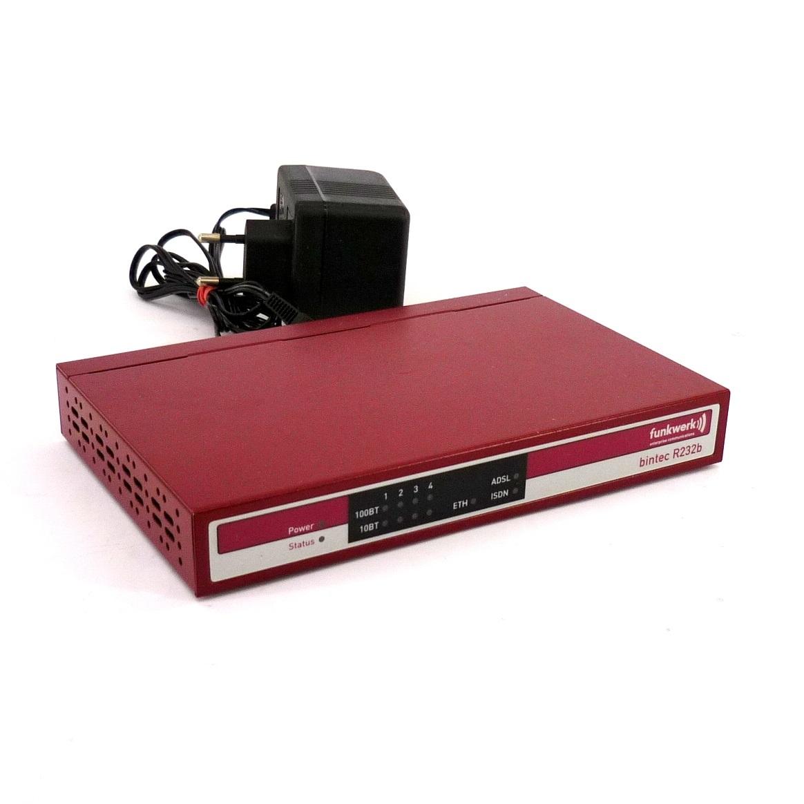 funkwerk bintec r232b 4 port wireless router adsl modem. Black Bedroom Furniture Sets. Home Design Ideas